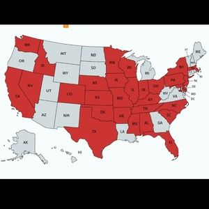 States I Have Shipped To!